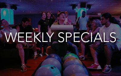 Bowling Specials